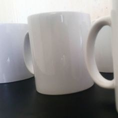 My first bulk order of coffee mugs purchased as Christmas gifts for a company's employees.