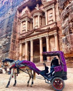 Stamp #603 - Jordan : The Lost City of Petra  The lost city of Petra in Jordan is the place that you must visit in a lifetime. Stunning magical and historical. My tip would be to come there early in the morning and hire one of the local bedouin guides with a horse at the entrance (bargaing for the price is a must). They will tell you all about the amazing history of Petra and show you some beautiful hidden spots that you woudn't be able to find by yourself. Don't miss the horse or donkey…