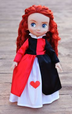 Queen of Hearts Dress Outfit for Disney por LittleBigBoutique
