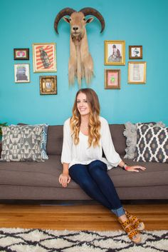 Kelli Ryder, A Rue Mag Editor Shows Us How To Style A Space #refinery29