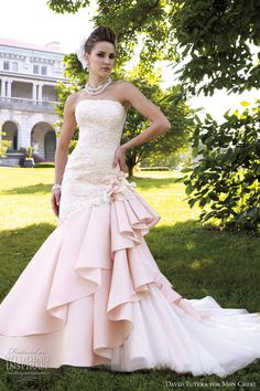 David Tutera for Mon Cheri Spring 2012 Bridal