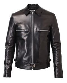 SAINT LAURENT | Leather Jacket