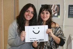Yaiza e Isabel quisieron también regalarnos su preciosa sonrisa