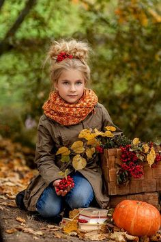 Fall Baby Pictures, Little Girl Pictures, Fall Photos, Little Girls, Autumn Photography, Children Photography, Cute Young Girl, Fall Family, Autumn Garden