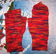 Marktfrauenhandschuhe mit Käppchen Da ich lange im Internet gesucht habe und nie eine so tolle und brauchbare Anleitung für Marktfrauenhands...