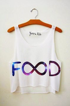 BIB tanks 2014 - Galaxy Infinity Food Crop Tank Top