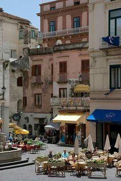 Piazza del Duomo Amalfi-Italy