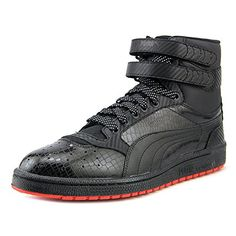 d7d8b20873f7c1 PUMA Sky II Hi Core Men s Hightop Sneakers Shoes Red Size 12 PUMA  Basketball Shoes El