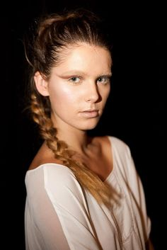 Street style: Australian fashion week 2012 | Love braids right now, they were all over the Australian catwalks for summer