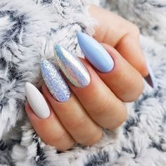 Last cute summer nail colors and design 2019 - # nail colors # sweet . - Last cute summer nail colors and design 2019 Informations About Letzte süße Sommer Nagelfarben und - Hair And Nails, My Nails, Cute Summer Nails, Nail Summer, Summer Winter, Summer Acrylic Nails, Glittery Acrylic Nails, Summer Stiletto Nails, Blue Nail Designs