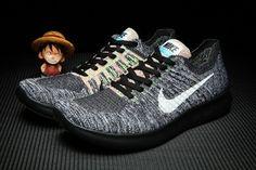 Nike Free RN 5.0 Flyknit Men Black Grey Shoes [nikefree] - $61.99 :   nike air max   Scoop.it