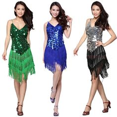 2016 Women Latin Dance Dress Women Ballroom Dancing Dresses Latin Dance Costume…
