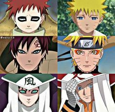 Naruto Uzumaki and Gaara of the Sand - Evolution ♥♥♥ Naruto Comic, Naruto Shippuden Sasuke, Naruto Kakashi, Anime Naruto, Naruto Fan Art, Wallpaper Naruto Shippuden, Naruto Cute, Naruto Wallpaper, Otaku Anime