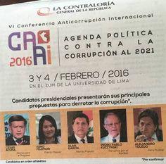 Huy Carajo: Verónika Mendoza: Contraloría solo invita a candid...