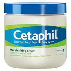 Cetaphil Moisturizing Cream I was sent this in my vox box in exchange for my reviews I put some on my face this morning and I ABSOLUTELY LOVE IT