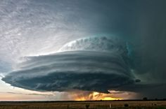 Supercell Over Kansas Photograph by Colt Forney, National Geographic Your Shot - Picture of a supercell thunderstorm over farmland