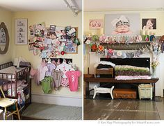 Keri Kay Photography Studio Tour. Love how she displays all of her props!