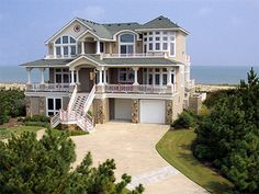 Dream house on the beach