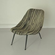Theo Ruth; Lounge Chair for Artifort, 1950s.