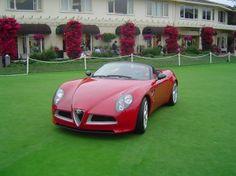 Alfa Romeo 8C Spider concept (2005)