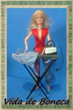 Como fazer tabua de passar roupas para dolls