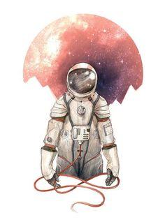 Universo, espaço, astronautas, astros, cosmos, galáxias… fundos de tela <3