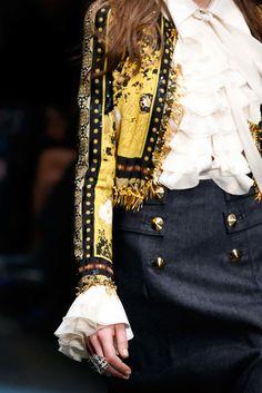 Роберто Кавалли Осень 2015 готовых к носить аксессуары фото - моде