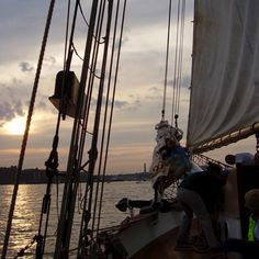 Sailing in Boston, MA