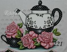 Flowering Trees, Mehndi Designs, Decoupage, Tea Pots, Stencils, Tableware, Flowers, Painting, Fabric Crafts
