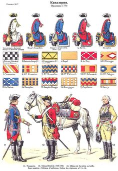 SOLDIERS- Rousselot: SYW- France: French Cavalry, by Lucien Rousselot.