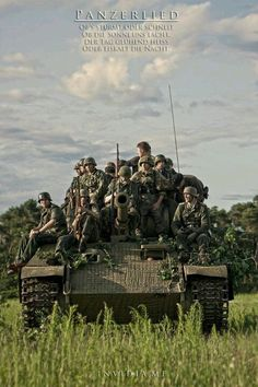 Infantry and panzer