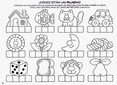 Archivo de álbumes Spanish Worksheets, Spanish Teaching Resources, Spanish Language Learning, Learning Activities, Kids Learning, Activities For Kids, Spanish Classroom, Home Schooling, Science Projects