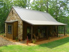 Texas Regional styled Guest Cottage in Cross Pines Ranch Preserve, part of larger property plans-SR Energy Efficiency, Homesteading, Regional, Cottage, Construction, Outdoor Structures, Traditional, Texas, Olympus