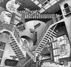 Relativity - Escher