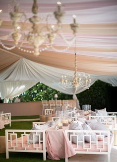Great idea for reception. Wedding Tent Keywords: #weddings #jevelweddingplanning Follow Us: www.jevelweddingplanning.com  www.facebook.com/jevelweddingplanning/