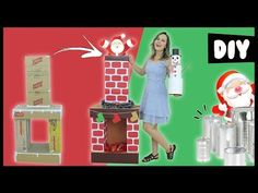 DIY ESPECIAL NATAL #1 🎅 LAREIRA DE PAPELÃO, BONECO DE NEVE ⛄ Fácil e Barato - YouTube Christmas, Natal Diy, Grinch, Classroom, Decorations, Videos, Youtube, Christmas Home, Christmas Things To Do