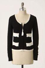 NEW Anthropologie Sleeping On Snow Atelier Sweater Jacket Cardigan Sz S  *RARE*