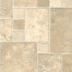 Enhance the decor of your home or add a slight modish touch with this light neutral tone vinyl flooring that will allure and enhance whichever area it is laid. The variation of tile size in this vinyl floor adds character and flair, bestowing a more authentic and realistic look. This vinyl floor has a 3.80mm thickness and a .20mm wear layer for high durability while R10 slip resistant rating makes it safe to be laid in wet areas of the home like bathrooms and kitchens.