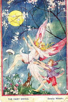 "Charming! ""I once wrote to a newspaper telling them about my childhood and received this postcard from someone who read the letter. I was about six at the time.