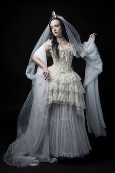 Make sure not to miss Gothic and Amazing interview with Lady Amaranth and get to know all about her own wedding wink emoticon get our bridal magazine issue digital or printed version here http://www.magcloud.com/browse/issue/911244  Model: Lady Amaranth