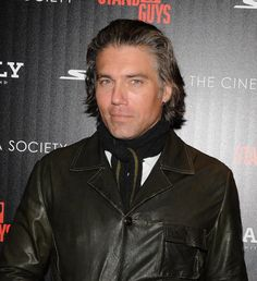 """Anson Mount at The Cinema Society With Chrysler & Bally Host The Premiere Of """"Stand Up Guys"""" - Arrivals"""
