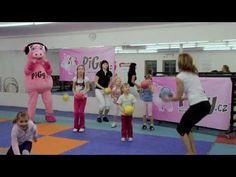 Pigy cvičení s Hankou Kynychovou: s míčkem - YouTube