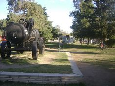 Jardín de la terminal de ómnibus de Olta. La Rioja. Argentina