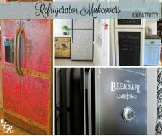 15 Refrigerator Makeovers That Will Stop You in Your Tracks