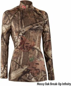 #UnderArmour, Evo Scent-Control Mock. #hunting,