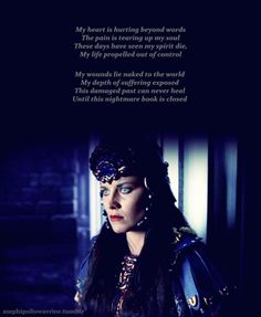 Xena- The Bitter Suite. One of my favorite Eps. I may or may not be able to sing all the songs from this epsode.. >_>