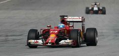 On Track for FP @ the 2014 FORMULA 1™ UBS CHINESE GRAND PRIX w/Fernando Alonso
