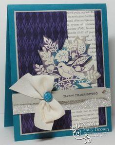 SUO57 Tweet Leaves by stampercamper - Cards and Paper Crafts at Splitcoaststampers
