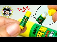 Welcome back to Mimine Miniature channel.Today is a miniature, Glue stick. ▼▽▼▽▼▽▼▽▼▽▼▽▼▽▼▽More clicks▼▽▼▽▼▽▼▽▼▽▼▽▼▽▼▽ ▶If you enjoyed video, Thumbs. Diy Dollhouse, Dollhouse Miniatures, Elmer's School Glue, Diy Glue, Sour Patch Kids, Diy School Supplies, Cute Little Things, Miniture Things, Fun Projects