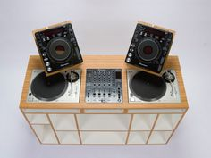 """California-based DJ furniture manufacturer, Dual designs and constructs a DJ table that combines """"a clean and modern design with the highes..."""